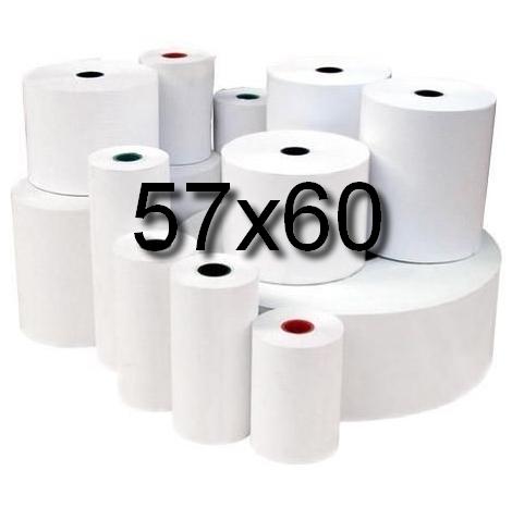 Rolki termiczne 57x60 -op.5 szt