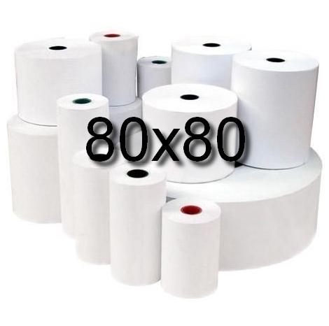 Rolki termiczne 80x80 -op.6 szt