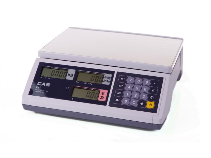 Waga kalkulacyjna CAS ER JUNIOR 15 B RS