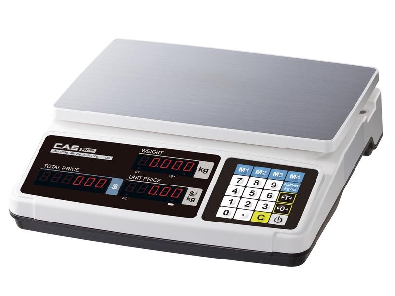 Waga kalkulacyjna CAS PR PLUS 15B